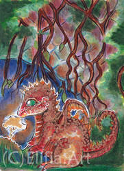 atc- the small dragon by ElifiaArt