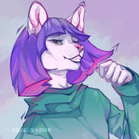 I'm a cool dude [comm] by Sevil-s