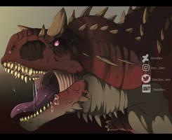 carnotaurus by ZheyZhey