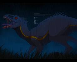 FanArt: Indoraptor by ZheyZhey