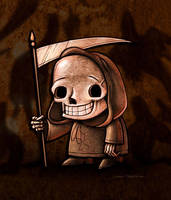 Grim by danidraws