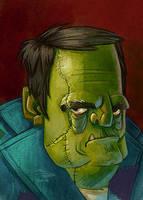Frankenstein's Monster by danidraws