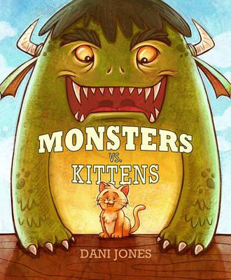 Monsters Vs. Kittens cover by danidraws