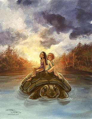 The Lake by danidraws