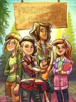 Lumberjanes Friends by danidraws