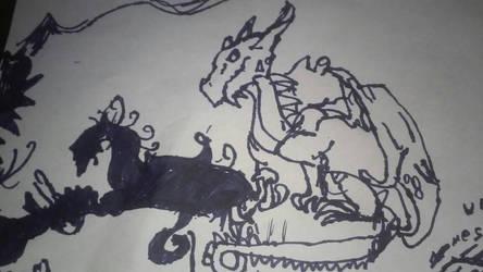 World of Dragons by OppositeKitty