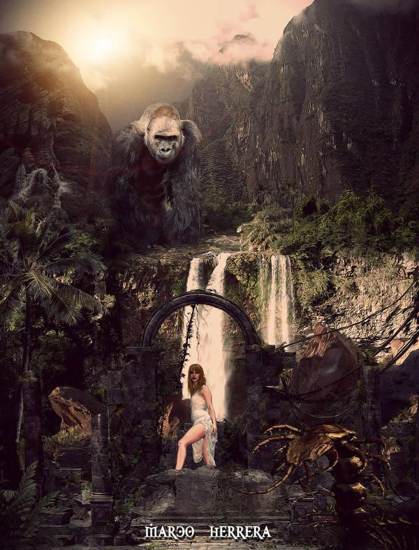 King Kong by MarcoHerrera