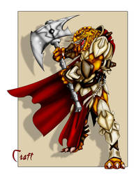 Dragonborn Fighter by grandanvil