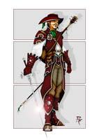 Half Elf Bard to Duellist by grandanvil