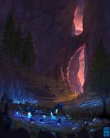 Mushroom Grove by JoshHutchinson
