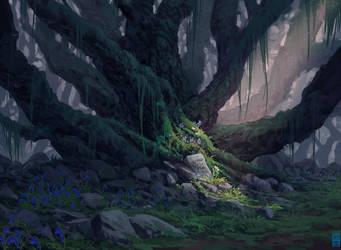 Ancient Tree by JoshHutchinson
