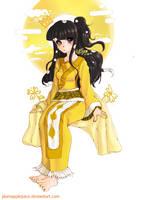 Elegant Empress of Silk by Mango-Nectar