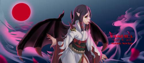 Onmyoji 2018 Contest - Vampira by Mango-Nectar