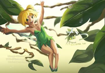 Tinker Bell's Summer by Mango-Nectar