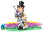 Freddie's Flower Patch by hankinstein