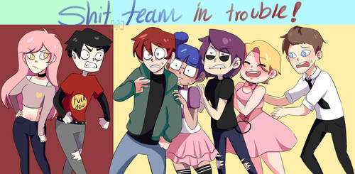 Shit Team In Trouble by tobiveroxd