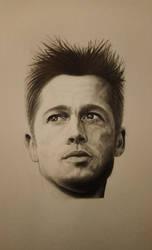 Brad Pitt by juprima