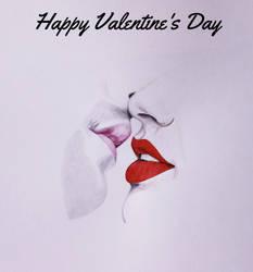Happy Valentine's Day 2 by juprima
