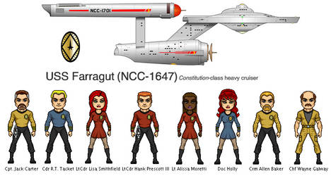 Farragut NCC-1647 by Windwalker44