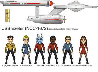 Exeter NCC-1672 by Windwalker44