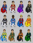 Elseworlds Superman: Across the Multiverse by Windwalker44
