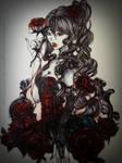 Rose of Blood by SakuraoNagame