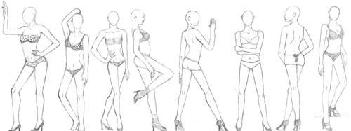 Fashion Poses by tyleramato