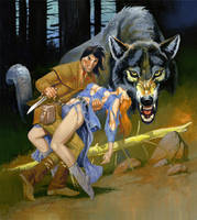 WOLF by RAFAELGALLUR
