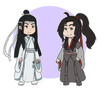 Mo Dao Zu Shi Chibis by Tails-Crossing