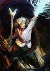 Perun [Slavic God] by Mikado13