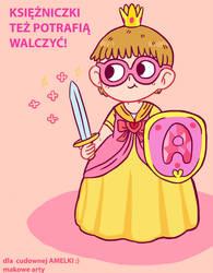 illustration for Amelka by Makasplendor