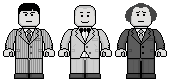 Lego'd The Three Stooges by Ripplin