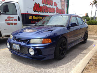 First Evo IV I've seen, part 1 by Ripplin