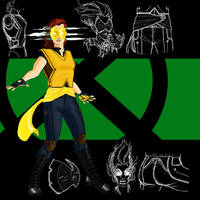 X-MEN Redesign: Marvel Girl by MatthewRoyale