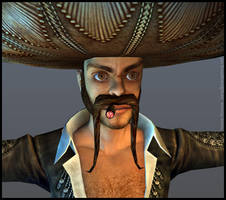 Don Pedro - face by Zanng