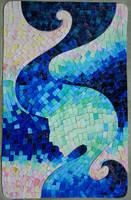 Mosaic about sea by Zanng