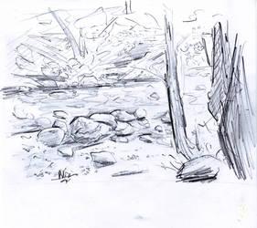 sketch nature 2 by NitenNoYume