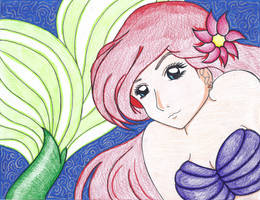 Ariel-The Little Mermaid by MarieJaneWorks