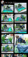 LINK Sculpture ~ Legend of Zelda by MarieJaneWorks