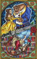 Beauty and the Beast | Once Upon A Time by MarieJaneWorks