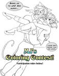MJ's Coloring Contest by MarieJaneWorks