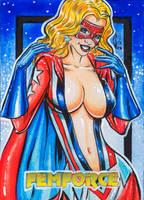 FEMFORCE MS VICTORY I AP CARD by AHochrein2010