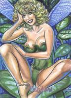 Essence of Fairyland sketch card by AHochrein2010