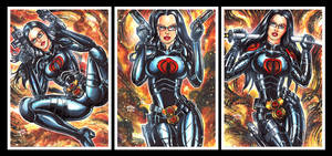 BARONESS PERSONAL SKETCH CARDS by AHochrein2010