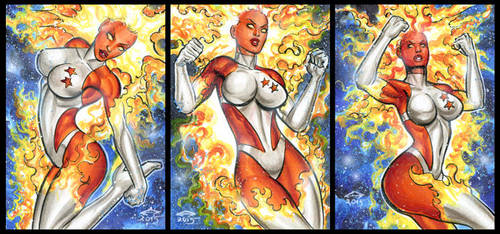 BINARY PERSONAL SKETCH CARDS 12-2015 by AHochrein2010