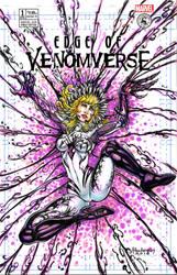 GWENOM SKETCH COVER by AHochrein2010
