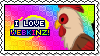 I Love Webkinz Stamp by iSinMuffin