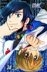 PC vs Mac by Lan Ishikiori by StudioXIII