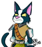 Avocato (final space) by RadStagArt