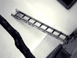 Ladder resting by FreakZombieCannibaL